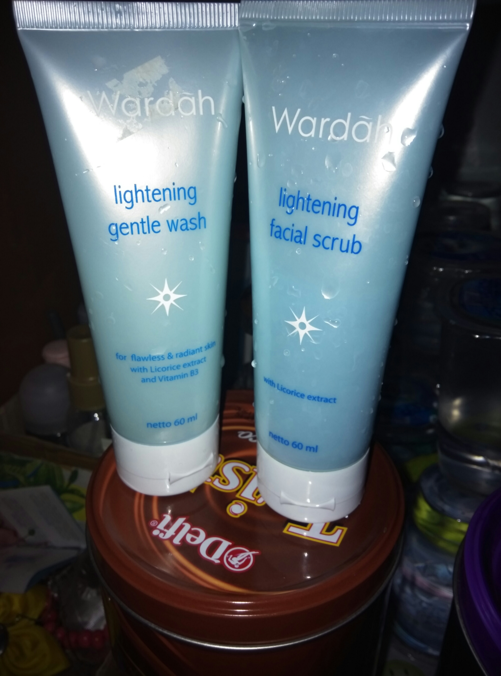 Review Produk Wardah Always Full Of Love Lightening Face Toner Gentle Facial Wash Scrub Series